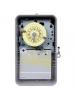Intermatic T104P - 24 Hr. Dial Time Switch - NEMA 3R Raintight Plastic Case - Gray Finish - DPST - 40 Amps - 208-277 Volt